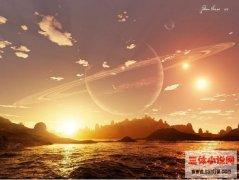三体星系有多可怕?十颗恒星聚星在一起想下后羿射日吧