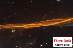 1.5万年前就能看到哈勃拍下超新星爆炸靓照