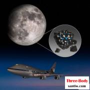 同温层红外天文台(SOFIA)最新观测到,位于月球南极地带的克拉维斯环形山存在水分子