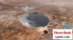 """美国太空总署""""毅力号""""2021年登陆杰泽罗陨石坑,寻找火星生命痕迹"""
