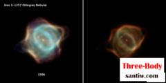 氦闪之后,刺魟星云Hen 3-1357再生剧变