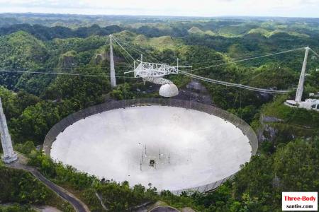 给外星人发信息的阿雷西博望远镜,是怎么坏的?